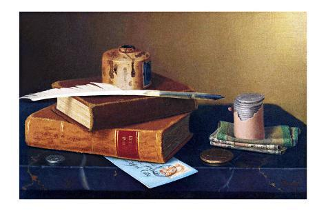 The Bankers Table Giclee Print