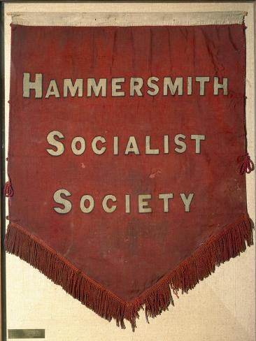 Banner of the Hammersmith Socialist Society Giclee Print