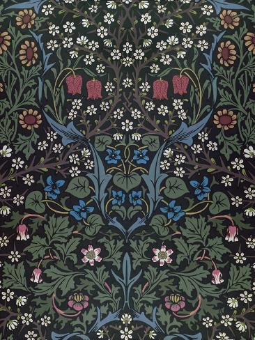 Blackthorn, Wallpaper Design, 1892 Giclee Print