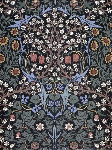 Blackthorn, Wallpaper Giclee Print