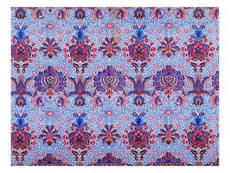 Floral Patterned Wallpaper Giclee Print By William Morris