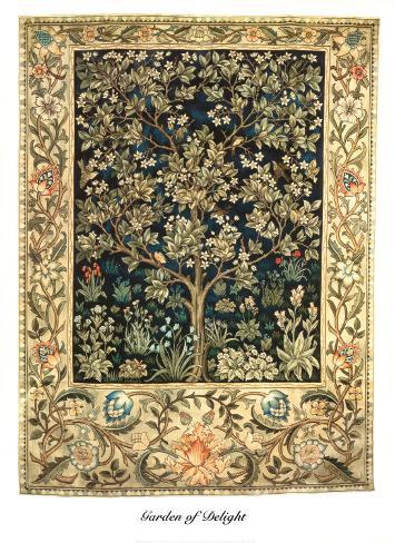 Garden of Delight Art Print