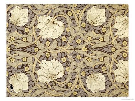 Pimpernell Design For Wallpaper Morris William