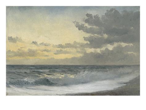Twilight - Sad Melody (Oil on Board) Giclee Print