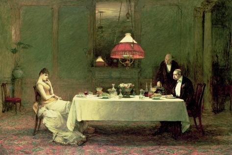 The Marriage of Convenience, 1883 Giclée-vedos