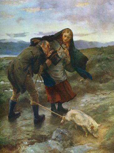 The Last Match, 1887 Giclee Print
