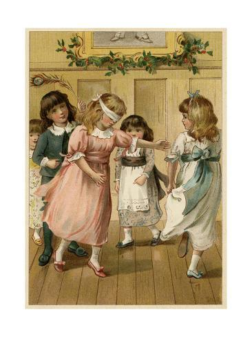 Children's Party 1885 Giclee Print