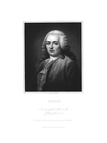 Anne Robert Jacques Turgot, French Politician and Economist, Early 19th Century Giclee Print