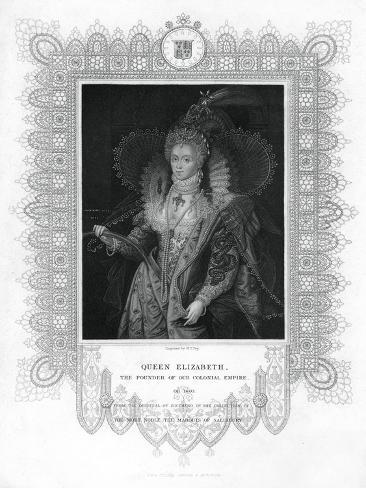 Elizabeth I of England Giclee Print