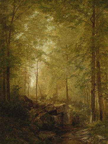 In the Woods, 1872 Giclee Print