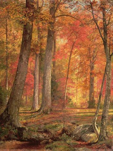Path in the Forest, 1865 Giclee Print