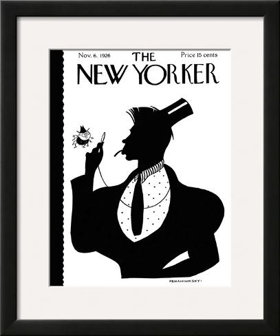 The New Yorker Cover - November 6, 1926 Framed Giclee Print