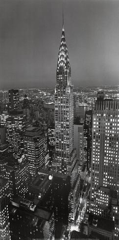 New York, New York, Chrysler Building Art Print