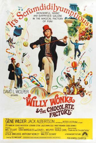 Willy Wonka and the Chocolate Factory - Australian Style Poster