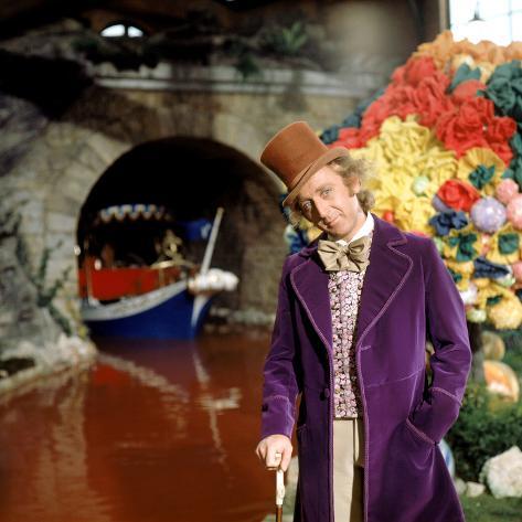 Willy Wonka And The Chocolate Factory, Gene Wilder, 1971 Photo