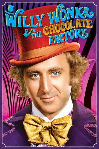 Willy Wonka- Chocolate Genius Poster