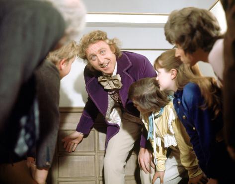 Willy Wonka e la fabbrica di cioccolato Foto