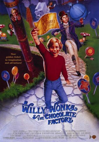 Willy Wonka & the Chocolate Factory Masterprint