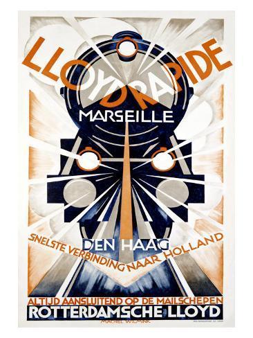 Lloyd Rapide Giclee Print