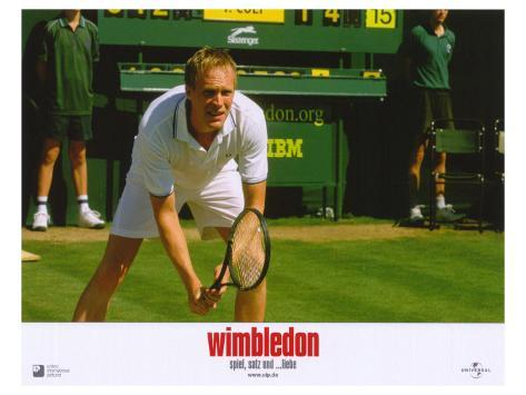 Wimbledon, German Movie Poster, 2004 Stretched Canvas Print