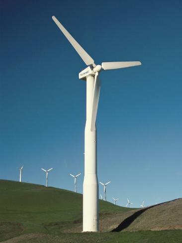 Wind Turbine Generators, Altamonti Pass, Califorrnia, USA Photographic Print