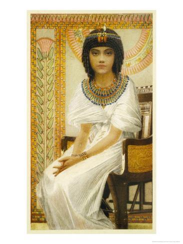 Queen Ankhesenamun Queen of Tutankhamun Giclee Print