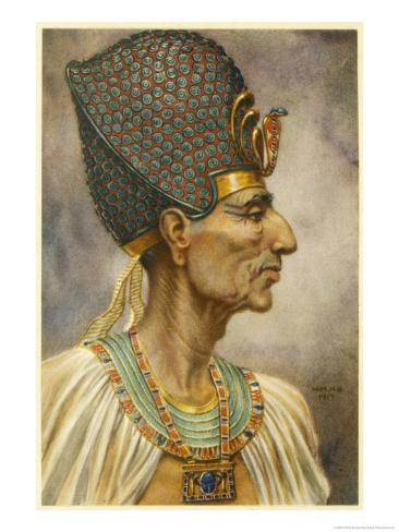 Rameses II Also Known as Meryamun or Usermaatre a Powerful Ruler and a Prolific Builder Giclee Print