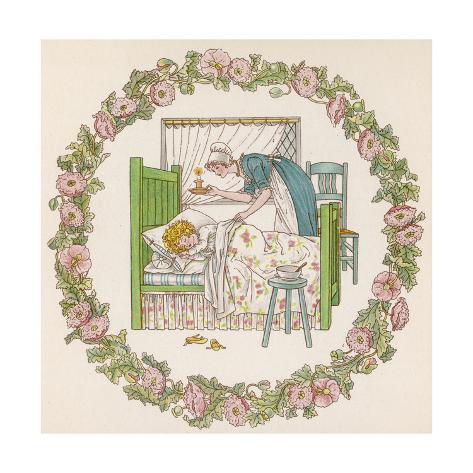 Sleeping Child, Greenaway Giclee Print