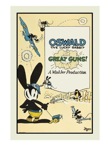 Great Guns Art Print