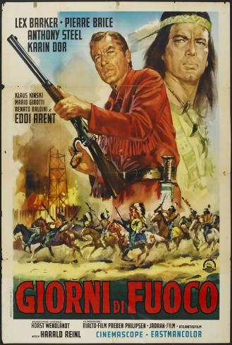 Winnetou: Last of the Renegades - Italian Style Poster