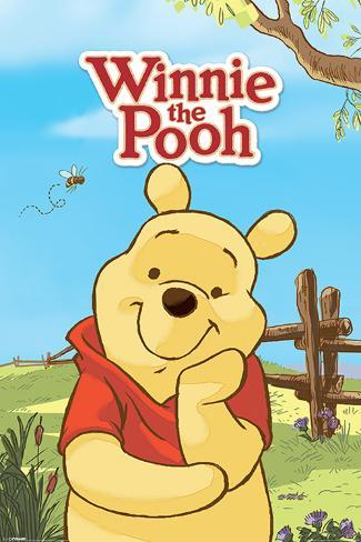 Winnie The Pooh (Pooh) Poster