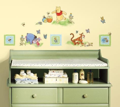 Winnie the Pooh - Toddler Peel & Stick Wall Decals Wall Decal