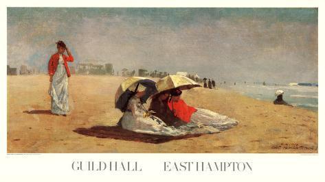 East Hampton Beach Art Print