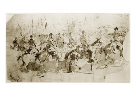 General Mcclellan's 6th Pennsylvania Giclee Print