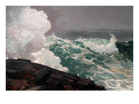Northeaster Art Print