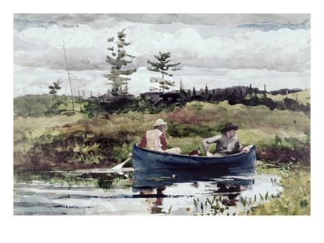 The Blue Boat Giclee Print