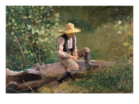 The Whittling Boy, 1873 Giclee Print