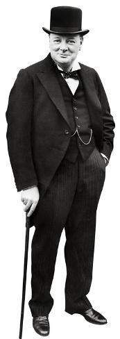 Winston Churchill Lifesize Standup Cardboard Cutouts