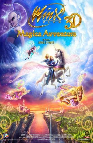 Winx Club 3D: Magic Adventure Impressão original