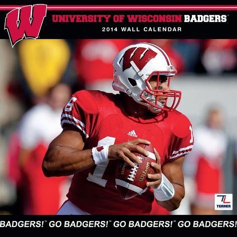 Wisconsin Badgers - 2014 Calendar Calendars
