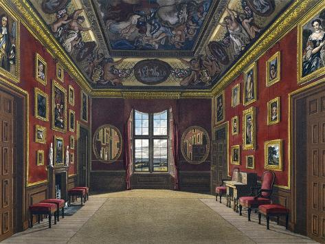 Withdrawing Room of King Giclee Print