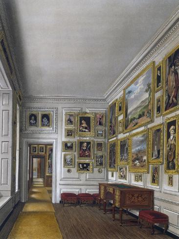 Withdrawing Room of Queen Giclee Print