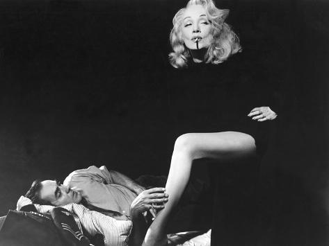Witness For The Prosecution, Tyrone Power, Marlene Dietrich, 1957 Foto