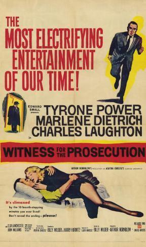 Witness for the Prosecution Masterprint