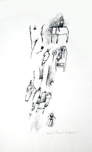 Personnages IV Collectable Print