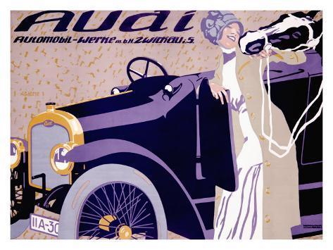 Audi Giclee Print