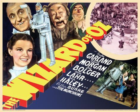 Wizard Of Oz - Cast 2 Mini Poster