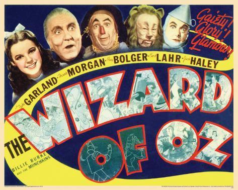 Wizard Of Oz - Retro Mini Poster