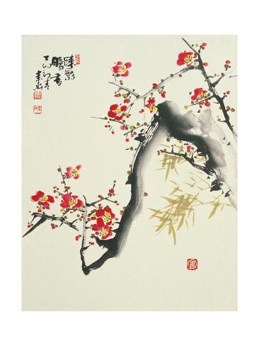 Asian Traditional Painting Art Print