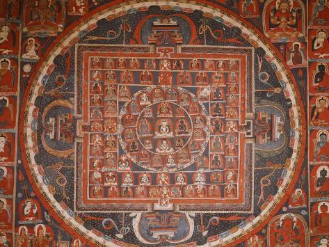 Buddhist Art Art Print